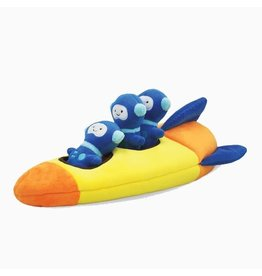 HUGSMART ROCKET  PLUSH PUZZLE TOY