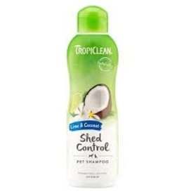 TropiClean TROPICLEAN LIME COCONUT SHED CONTROL SHAMPOO  20OZ