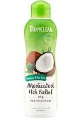 TropiClean TROPICLEAN OATMEAL & TEA TREE SHAMPOO  20OZ