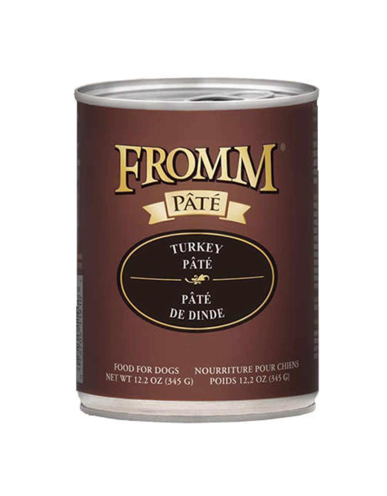 Fromm Family Pet Food FROMM DOG TURKEY PÂTÉ 12.2OZ