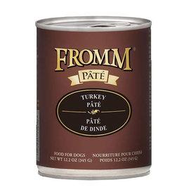 Fromm Family Pet Food FROMM DOG TURKEY PÂTÉ 12.2OZ