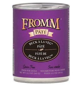 Fromm Family Pet Food FROMM DOG DUCK ALA VEG PÂTÉ 12.2OZ