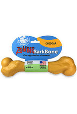 Pet Qwerks PET QWERKS CHEESE ZOMBIE BARKBONE CHEW TOY