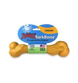 Pet Qwerks PET QWERKS CHEESE ZOMBIE BARKBONE CHEW TOY