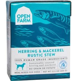 Open Farm OPEN FARM DOG RUSTIC STEW HERRING AND MACKEREL 12.5OZ