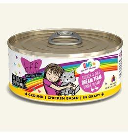 Weruva WERUVA CAT B.F.F. OMG DREAM TEAM CHICKEN & DUCK DINNER IN GRAVY