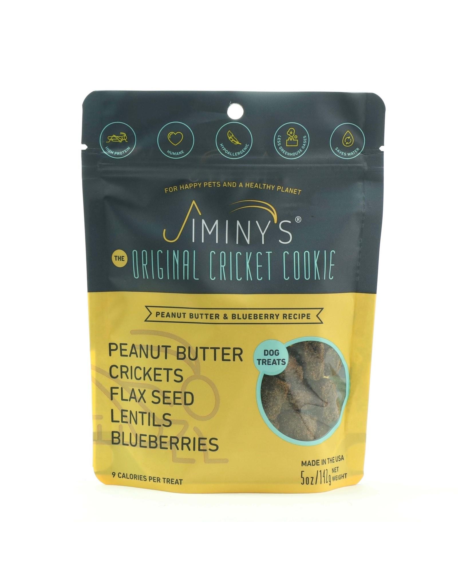 JIMINYS JIMINYS BISCUIT PEANUT BUTTER & BLUEBERRY 5OZ
