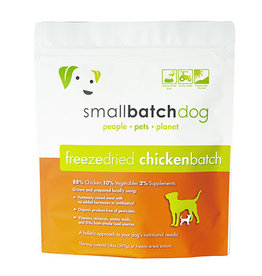 Smallbatch SMALLBATCH DOG FREEZE DRIED CHICKEN SLIDERS