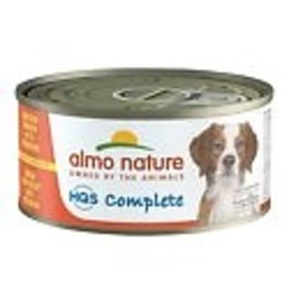 Almo Nature ALMO NATURE DOG HQS COMPLETE CHICKEN DINNER WITH EGG & PUMPKIN 5.5OZ
