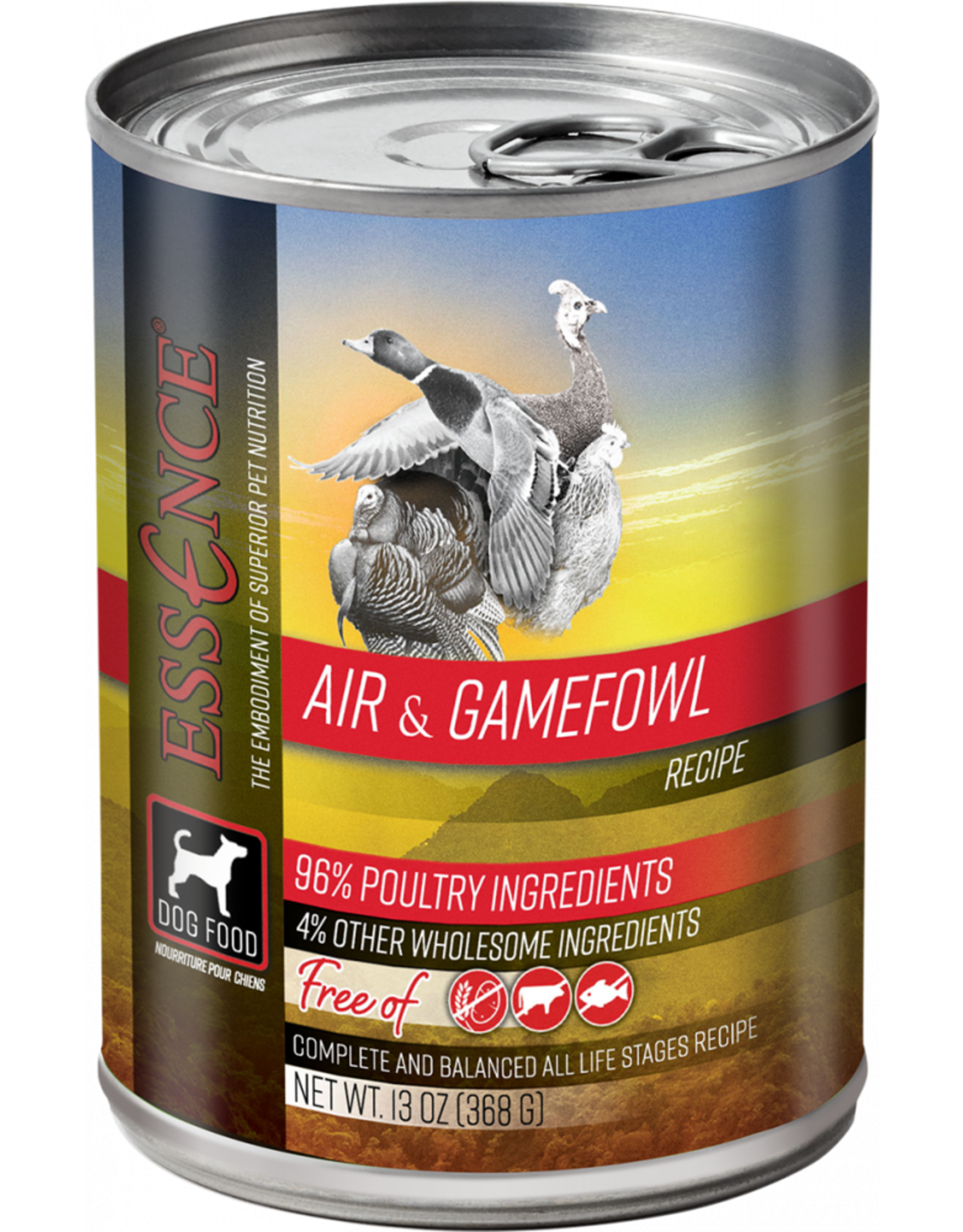 Essence Pet Foods ESSENCE DOG AIR & GAMEFOWL 13OZ
