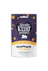Simply Kind Hearted SIMPLY KIND HEARTED CAT MUCHABLES CHEESE TREAT 1.4OZ