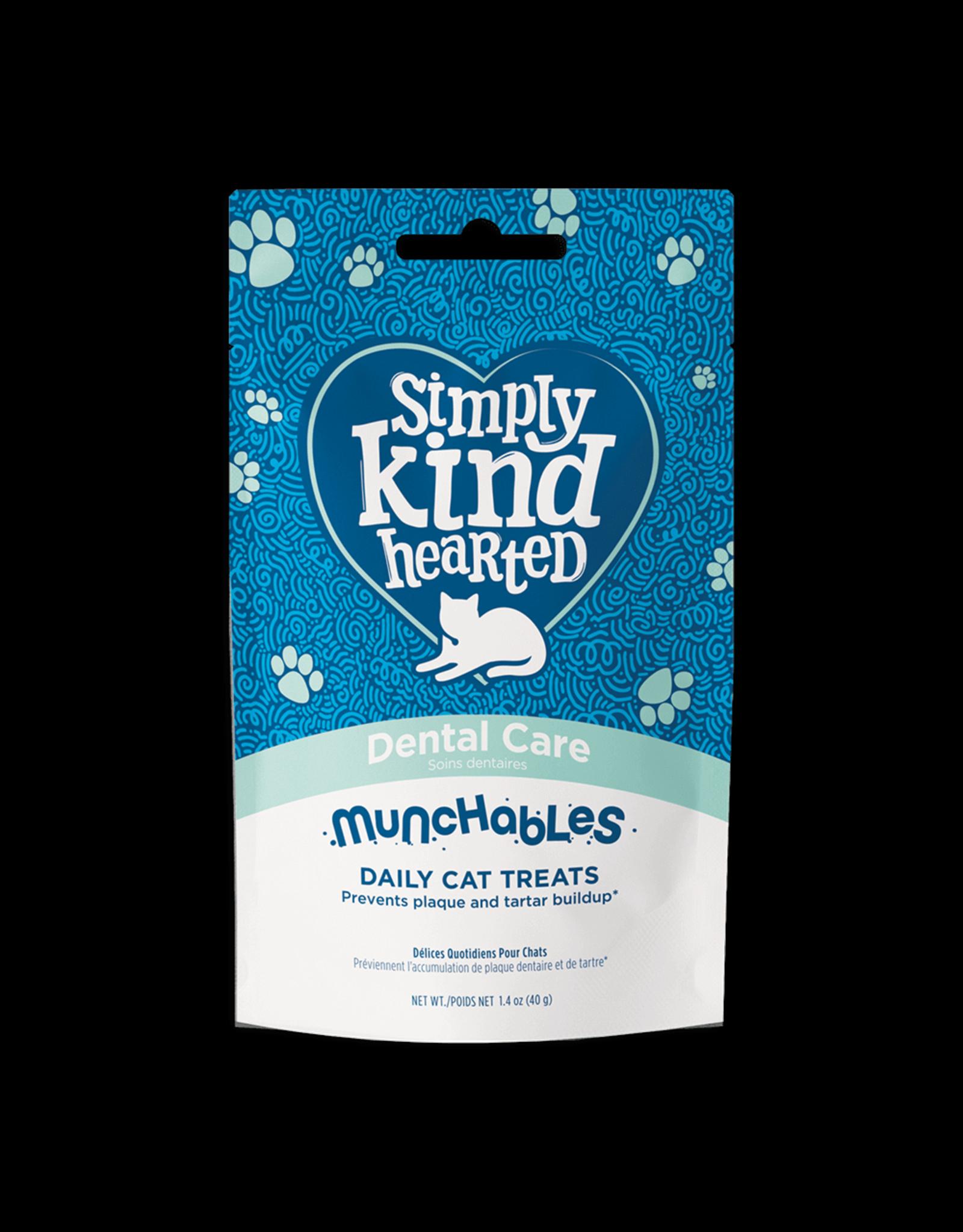 Simply Kind Hearted SIMPLY KIND HEARTED CAT MUNCHABLES DENTAL CARE TREAT 1.4OZ
