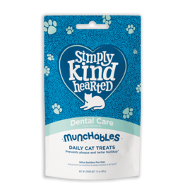 Simply Kind Hearted SIMPLY KIND HEARTED CAT MUNCHABLES DENTAL CARE TREAT 1.4OZ