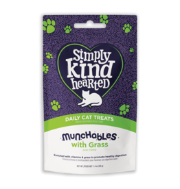 Simply Kind Hearted SIMPLY KIND HEARTED CAT MUNCHABLES GRASS TREAT 1.4OZ
