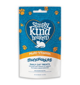 Simply Kind Hearted SIMPLY KIND HEARTED CAT MUNCHABLES MULTI VITAMIN TREAT 1.4OZ