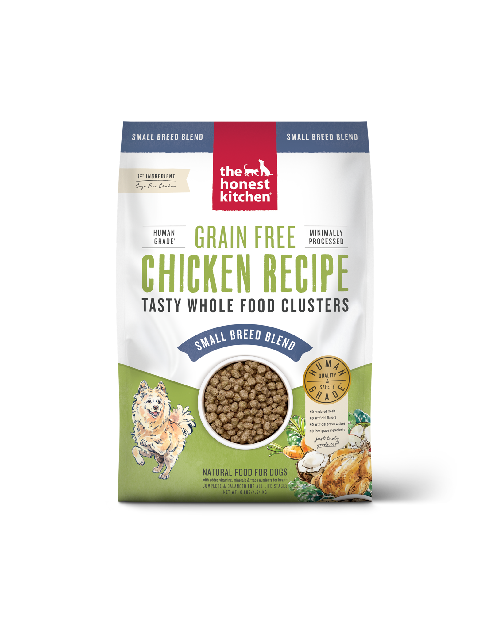 The Honest Kitchen THE HONEST KITCHEN WHOLE FOOD CLUSTERS SMALL BREED BLEND FOR DOGS GRAIN FREE CHICKEN RECIPE
