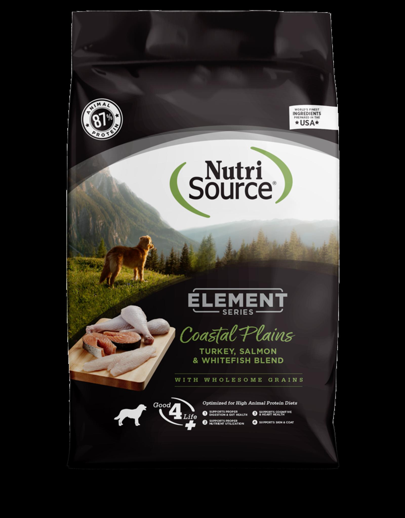 NutriSource Pet Foods NUTRISOURCE ELEMENT SERIES COASTAL PLAINS BLEND