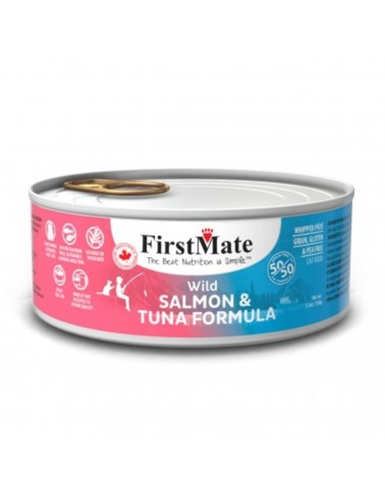 FirstMate FIRSTMATE CAT 50/50 SALMON TUNA 5.5OZ