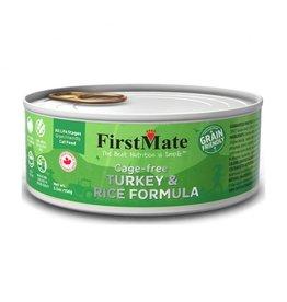 FirstMate FIRSTMATE CAT TURKEY RICE 5.5OZ