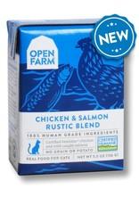 Open Farm OPEN FARM CAT CHICKEN SALMON RUSTIC BLEND 5.5OZ
