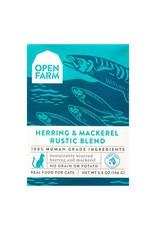 Open Farm OPEN FARM CAT WILD-CAUGHT HERRING MACKERELRUSTIC BLEND 5.5OZ