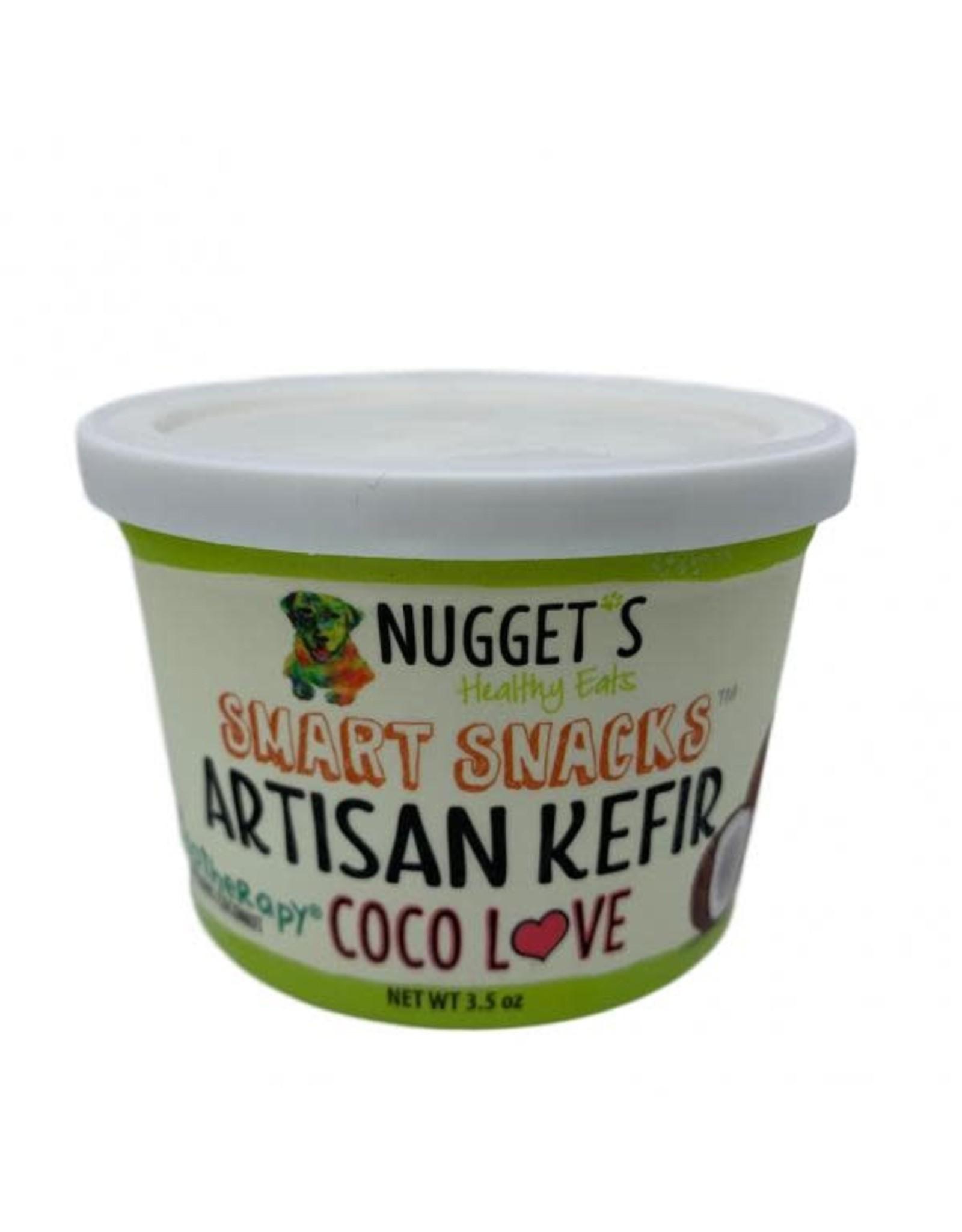 NUGGET'S HEALTHY EATS NUGGETS DOG/ CAT FROZEN SMART SNACK KEFIR COCO LOVE 3.5OZ CASE
