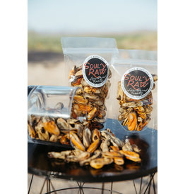 SOULY RAW SOULY RAW AIR-DRIED NEW ZEALAND GREEN LIPPED MUSSELS 4OZ