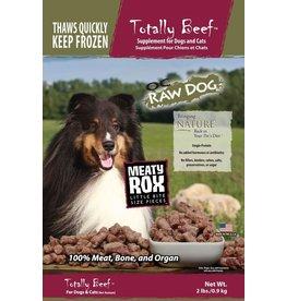 OC Raw Dog OC RAW CAT FROZEN RAW MEATY ROX TOTALLY BEEF 2LB