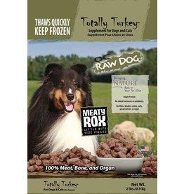 OC Raw Dog OC RAW CAT FROZEN RAW MEATY ROX TOTALLY TURKEY 2LB