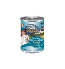 NutriSource Pet Foods NUTRISOURCE DOG CHICKEN & RICE 13OZ