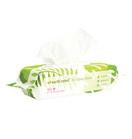 Earth Rated EARTH RATED PET GROOMING WIPES LAVENDER SCENTED 400CT
