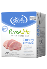 NutriSource Pet Foods PUREVITA DOG TURKEY ENTREE PATE 12.5OZ