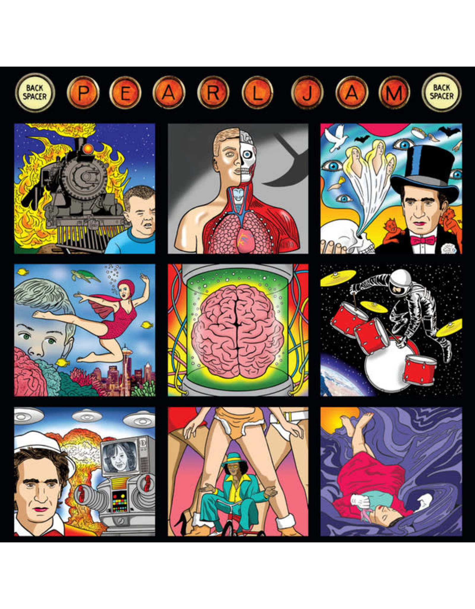 Vinyl Pearl Jam - Backspacer