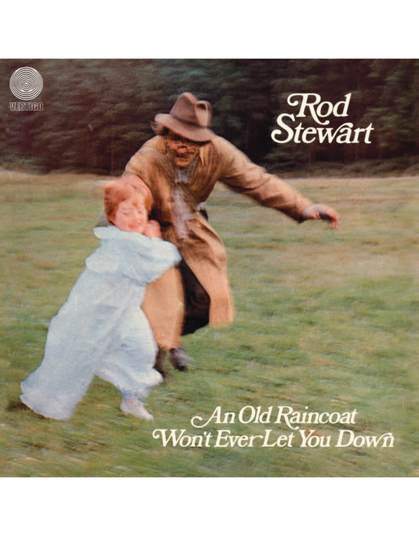 Vinyl Rod Stewart - An Old Raincoat Won't Ever Let You Down