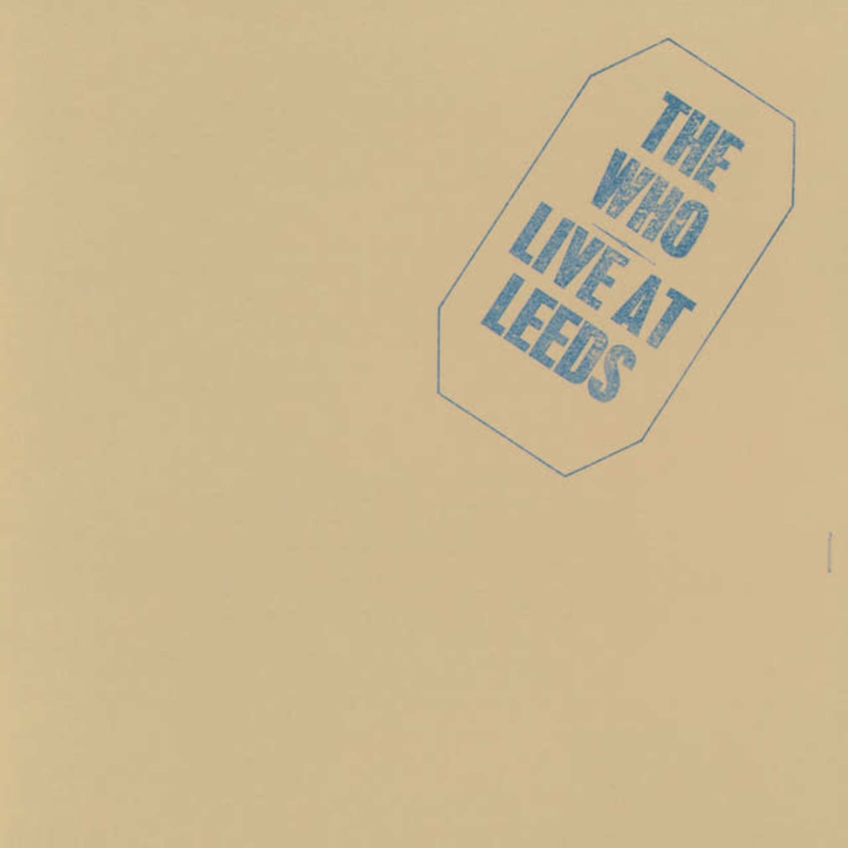 Vinyl The Who - Live at Leeds