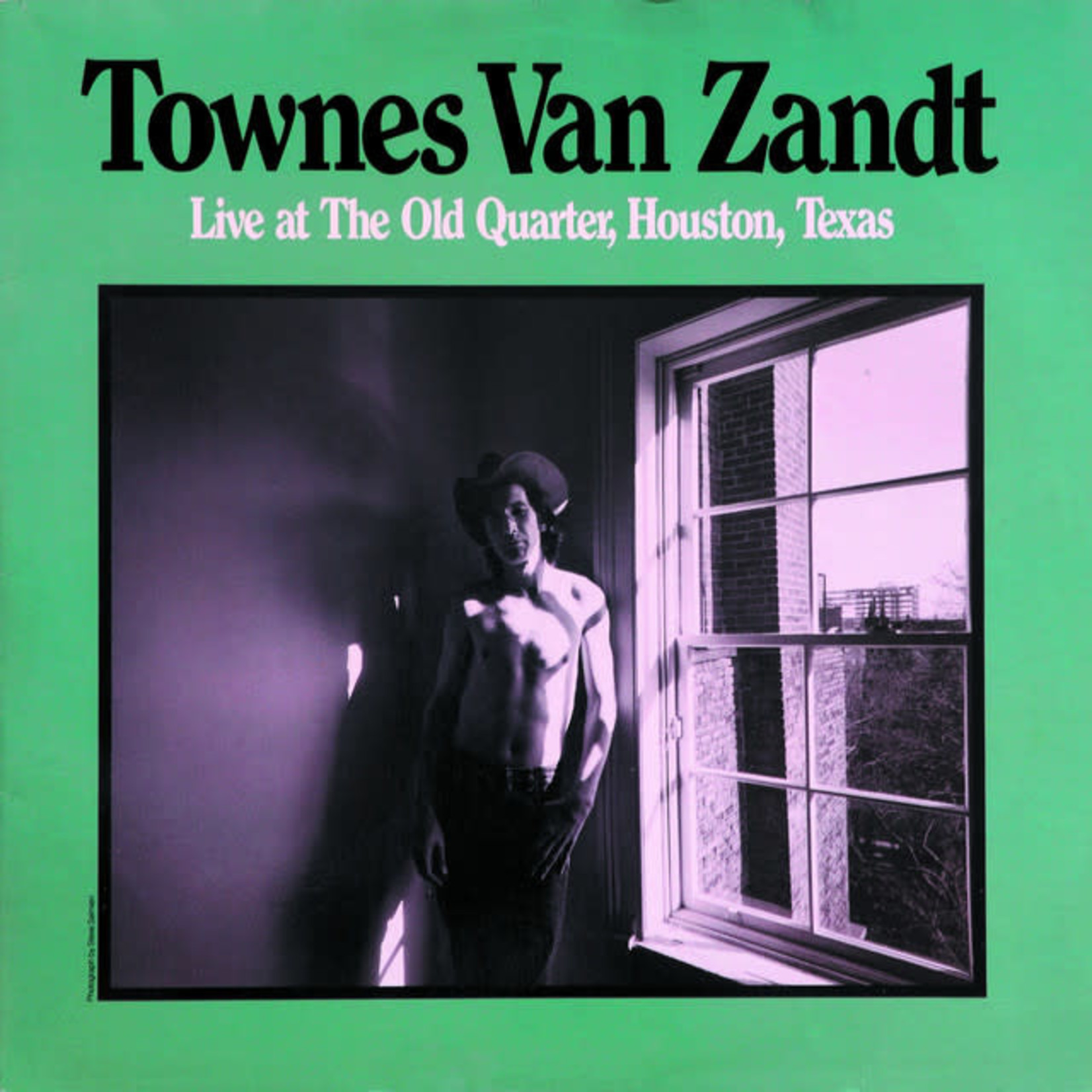 Vinyl Townes Van Zandt - Live at The Old Quarter, Houston, Texas