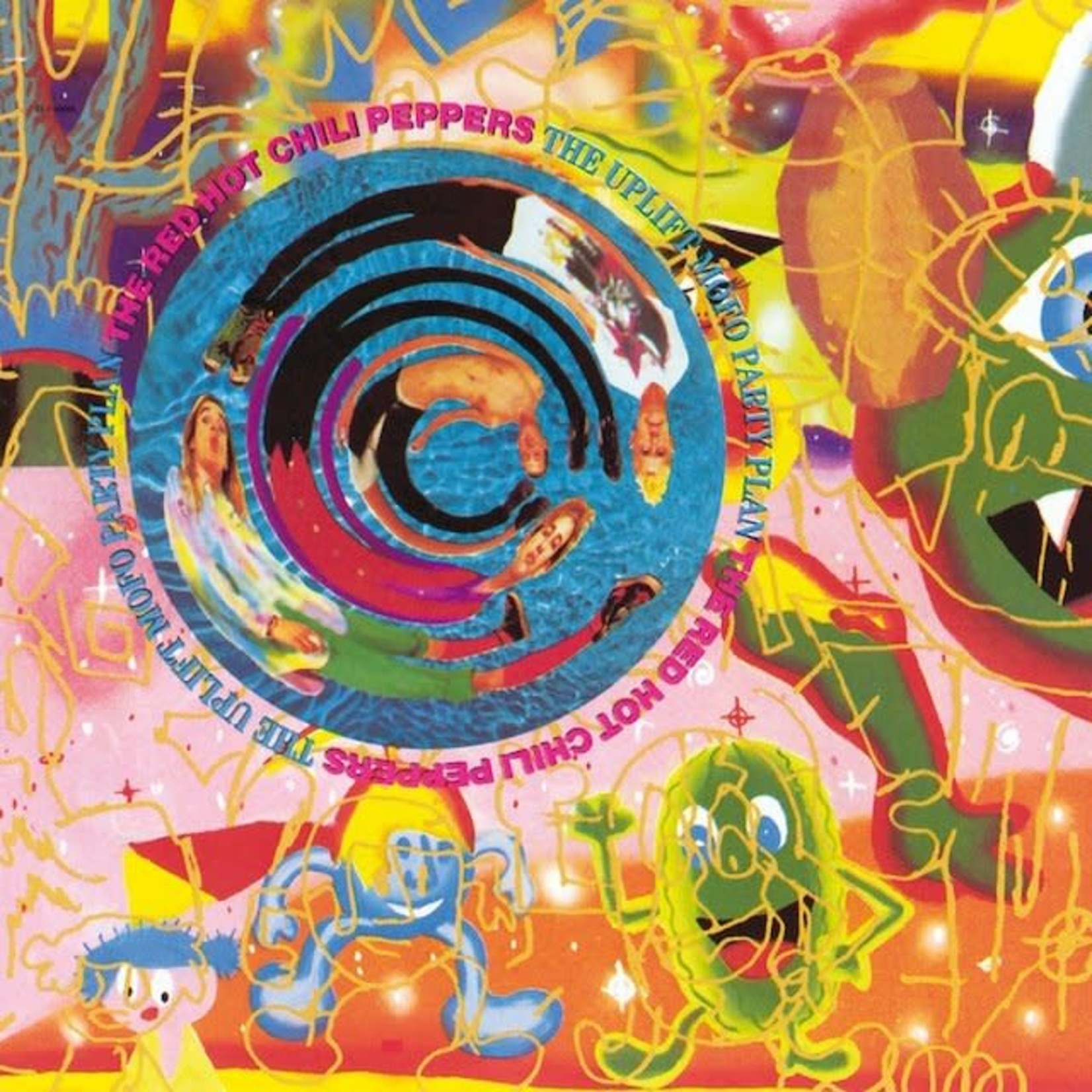 Vinyl Red Hot Chili Peppers - The Uplift Mofo Party Plan