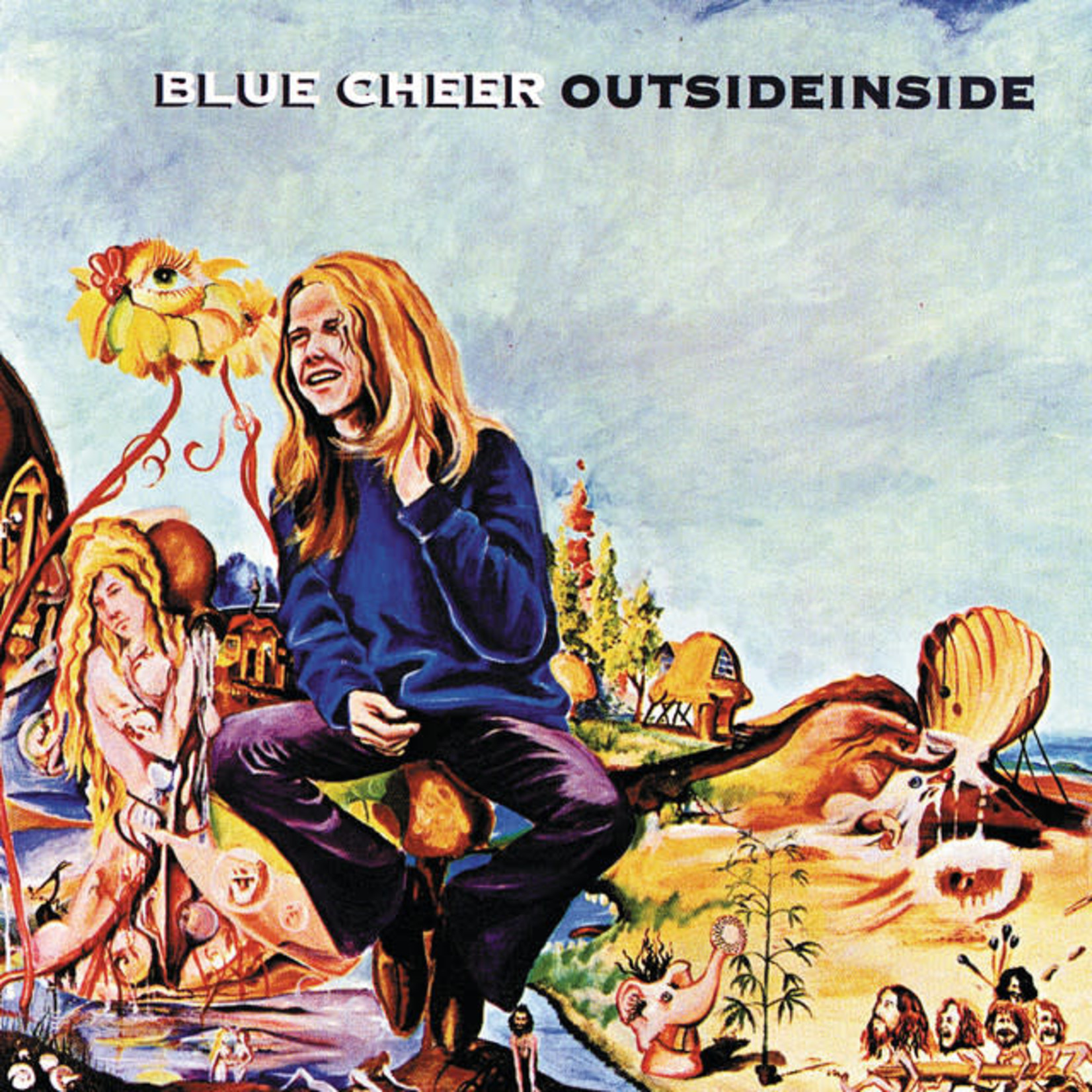 Vinyl Blue Cheer - Outside Inside