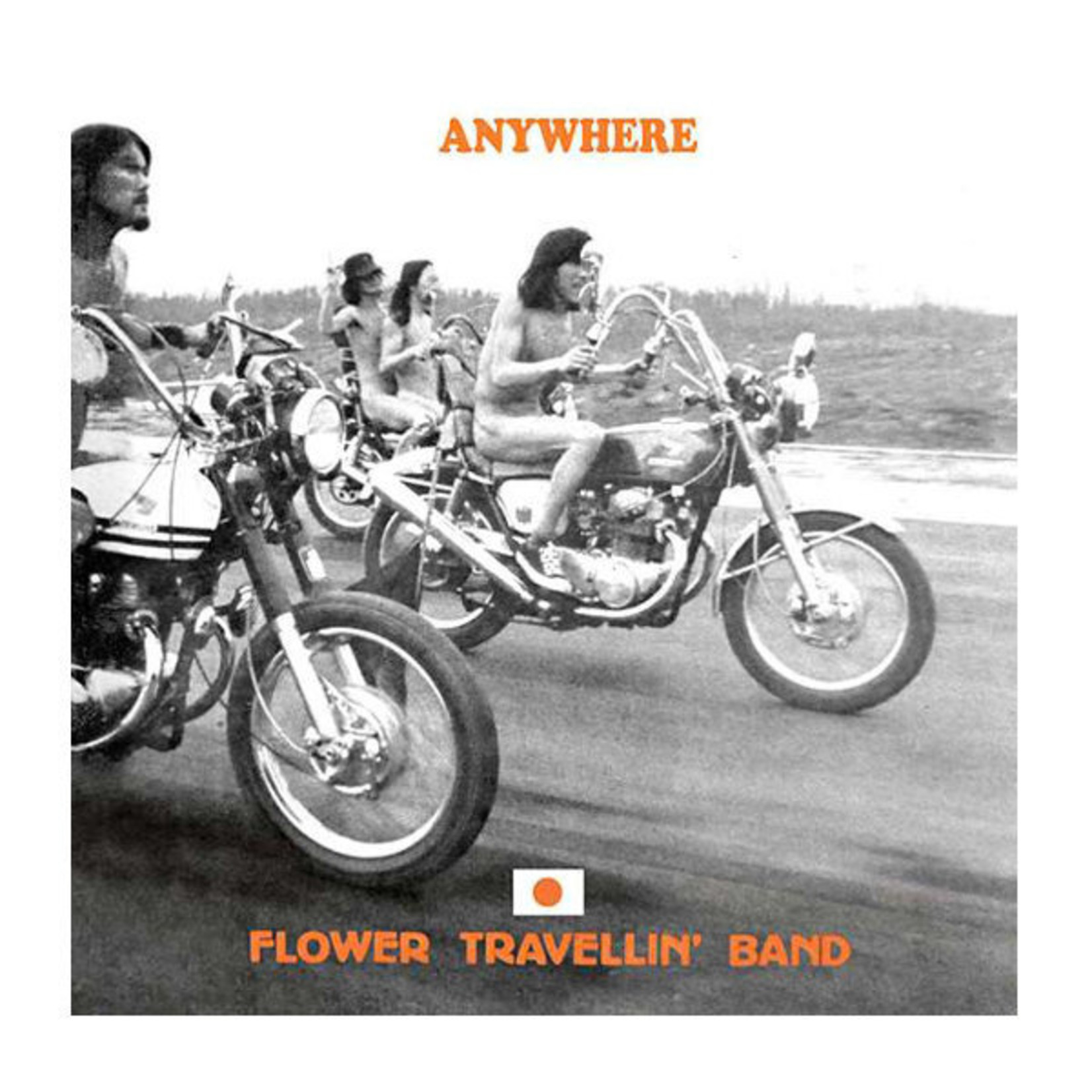 Vinyl Flower Travelling' Band - Anywhere.   Final Sale