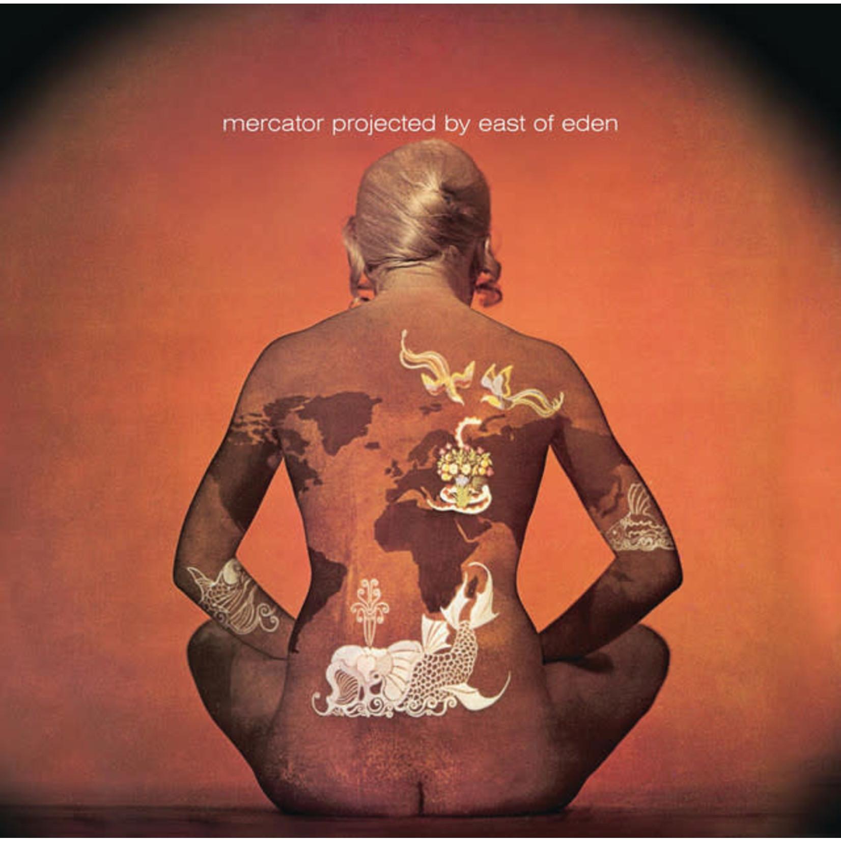Vinyl East of Eden - Mercator Projected