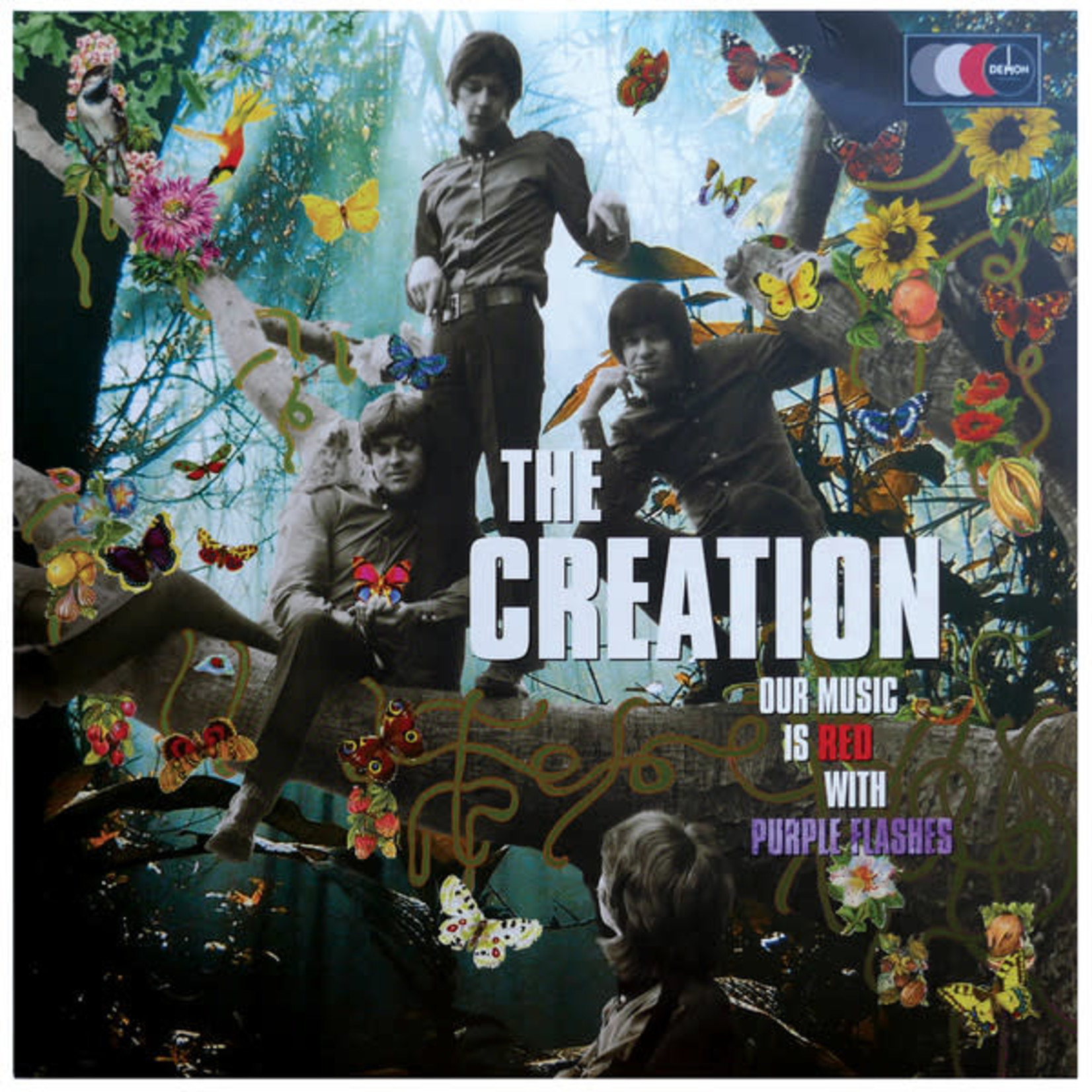 Vinyl The Creation - Our Music Is Red With Purple Flashes