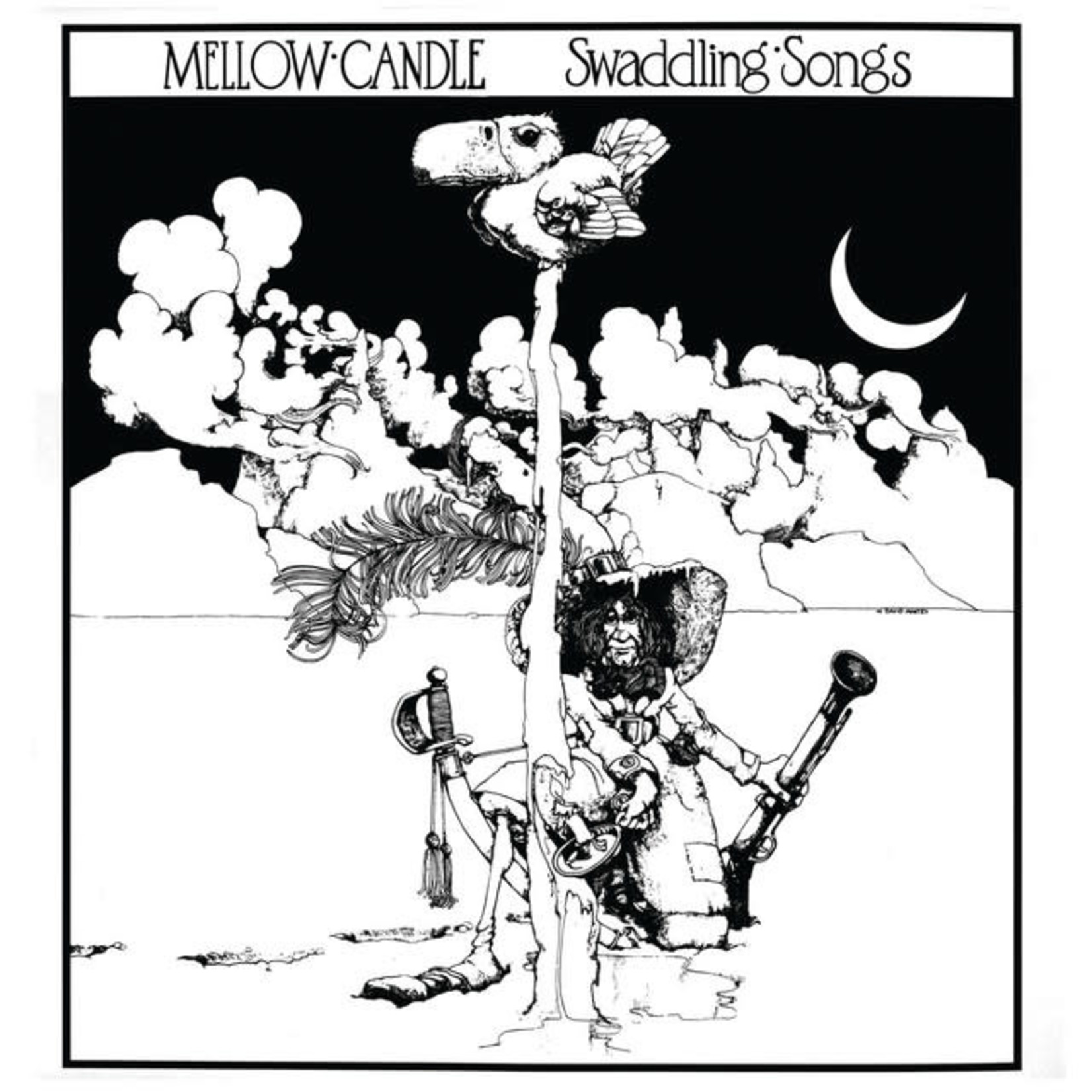 Vinyl Mellow Candle - Swaddling Songs