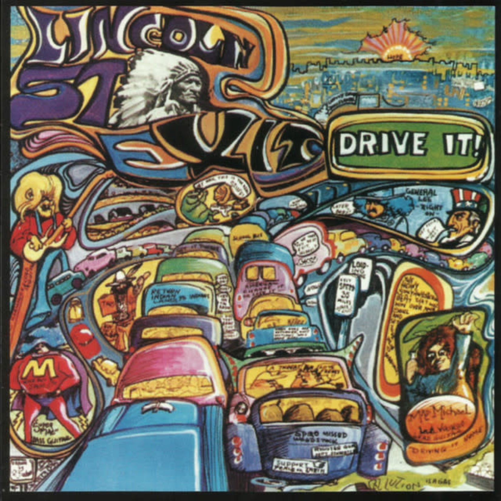 Vinyl Lincoln Street Exit - Drive It!