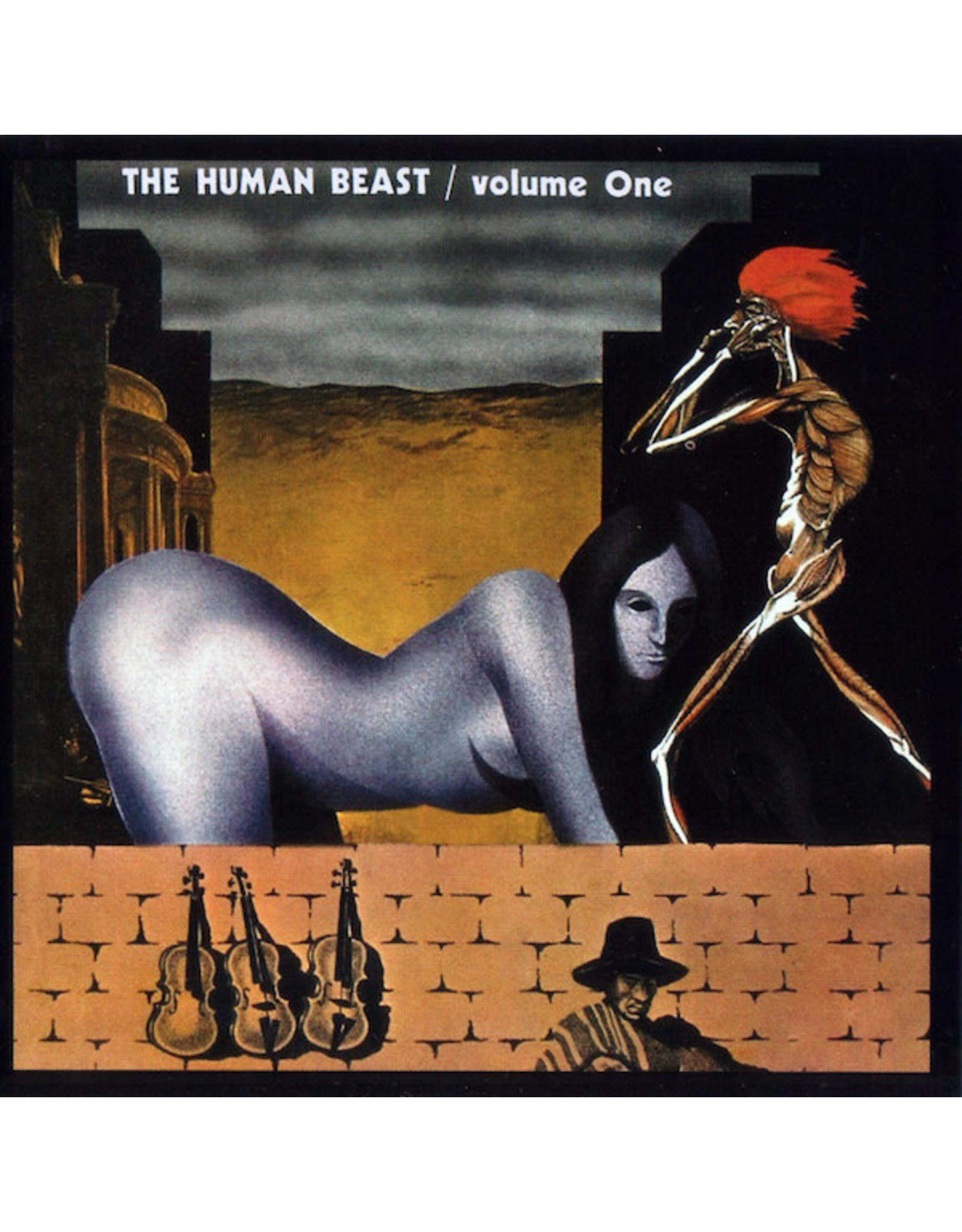 Vinyl The Human Beast - Volume One.  Final Sale