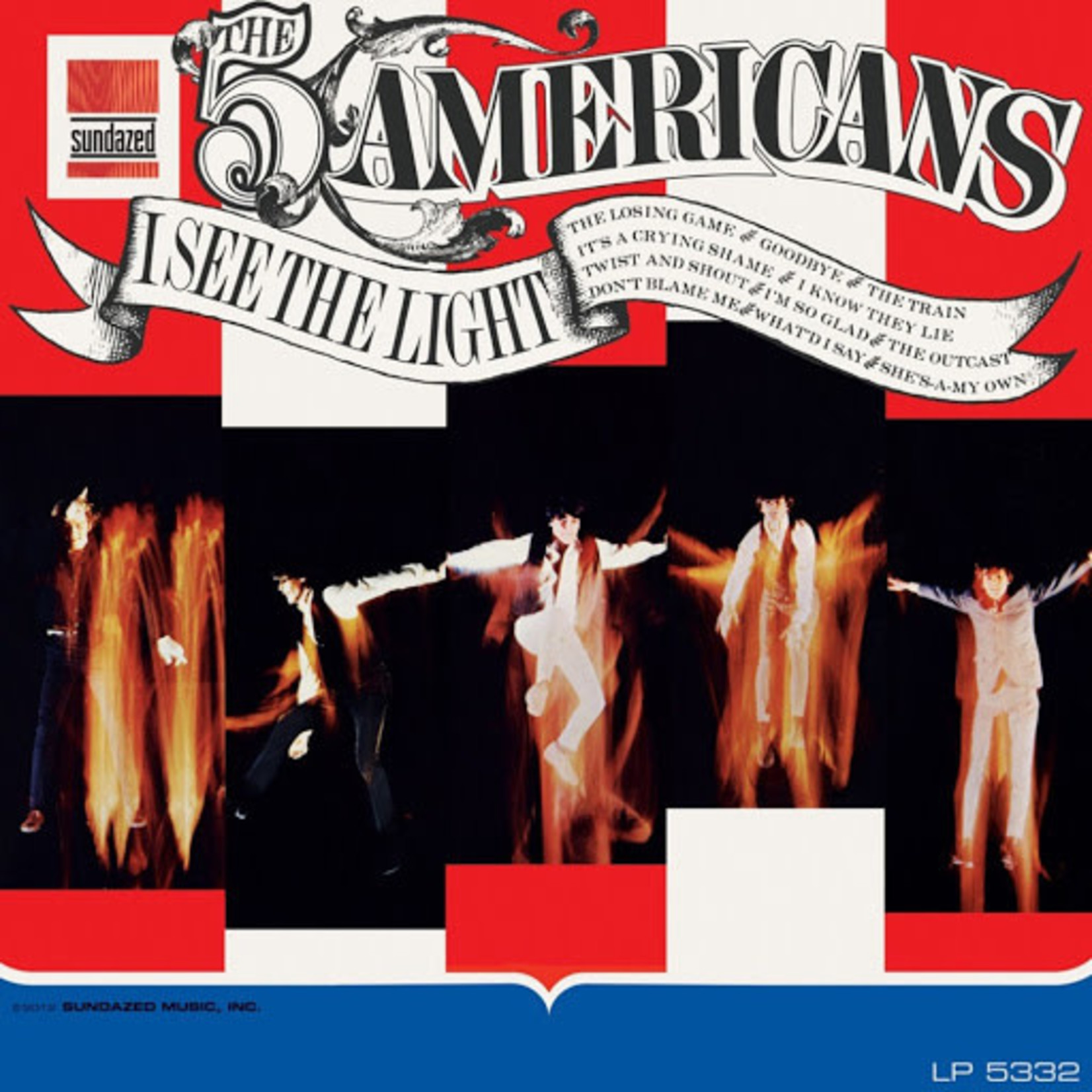 Vinyl The 5 Americans - I See The Light