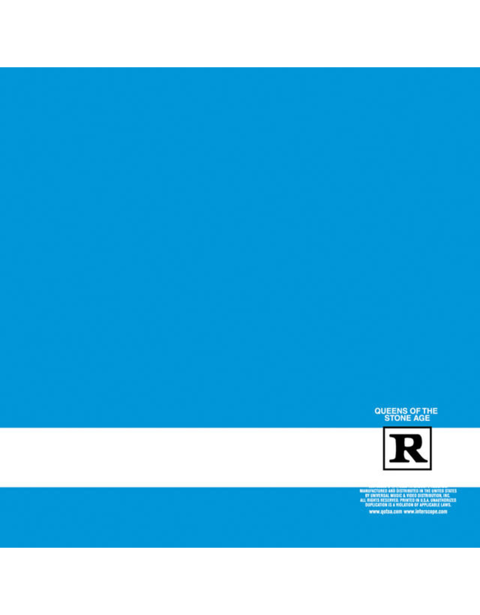 Vinyl Queens Of The Stone Age - Rated R