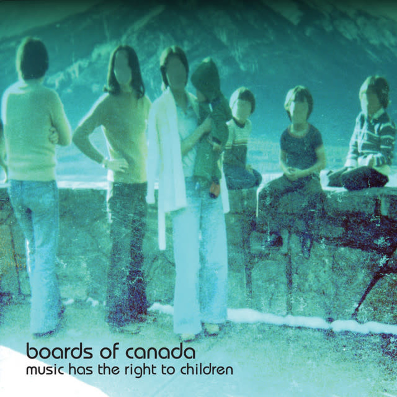 Vinyl Boards of Canada - Music Has The Right To Children