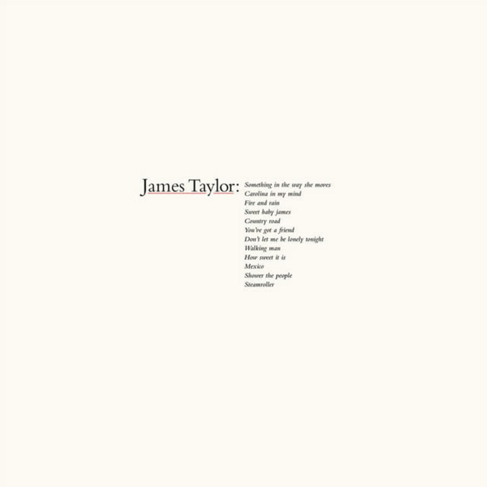 Vinyl James Taylor - Greatest Hits