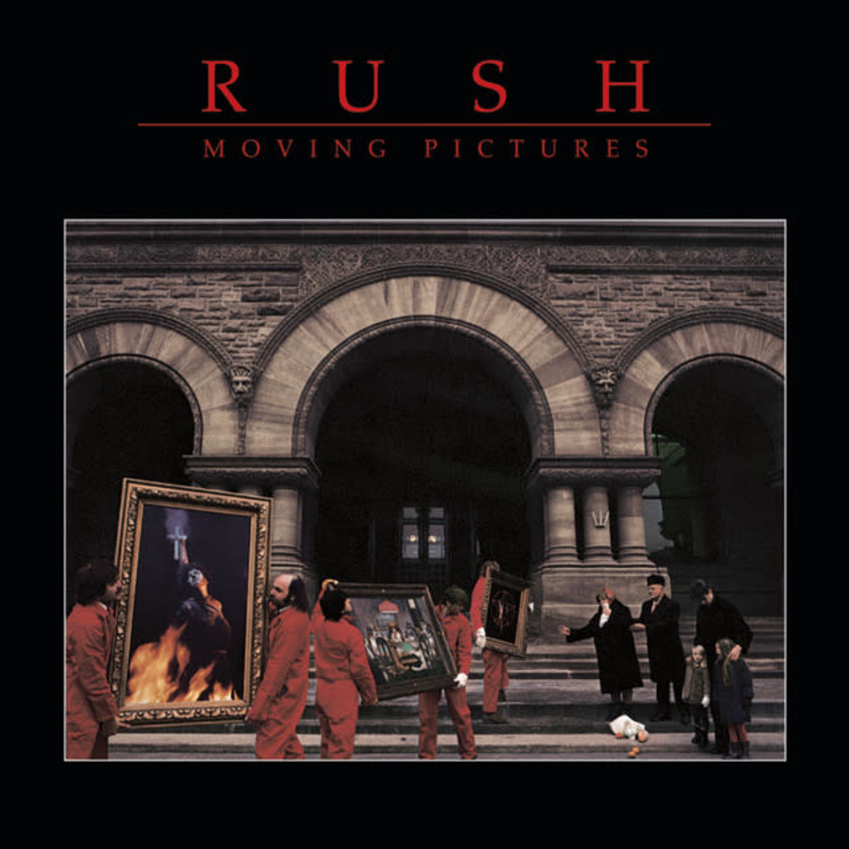 Vinyl Rush - Moving Pictures