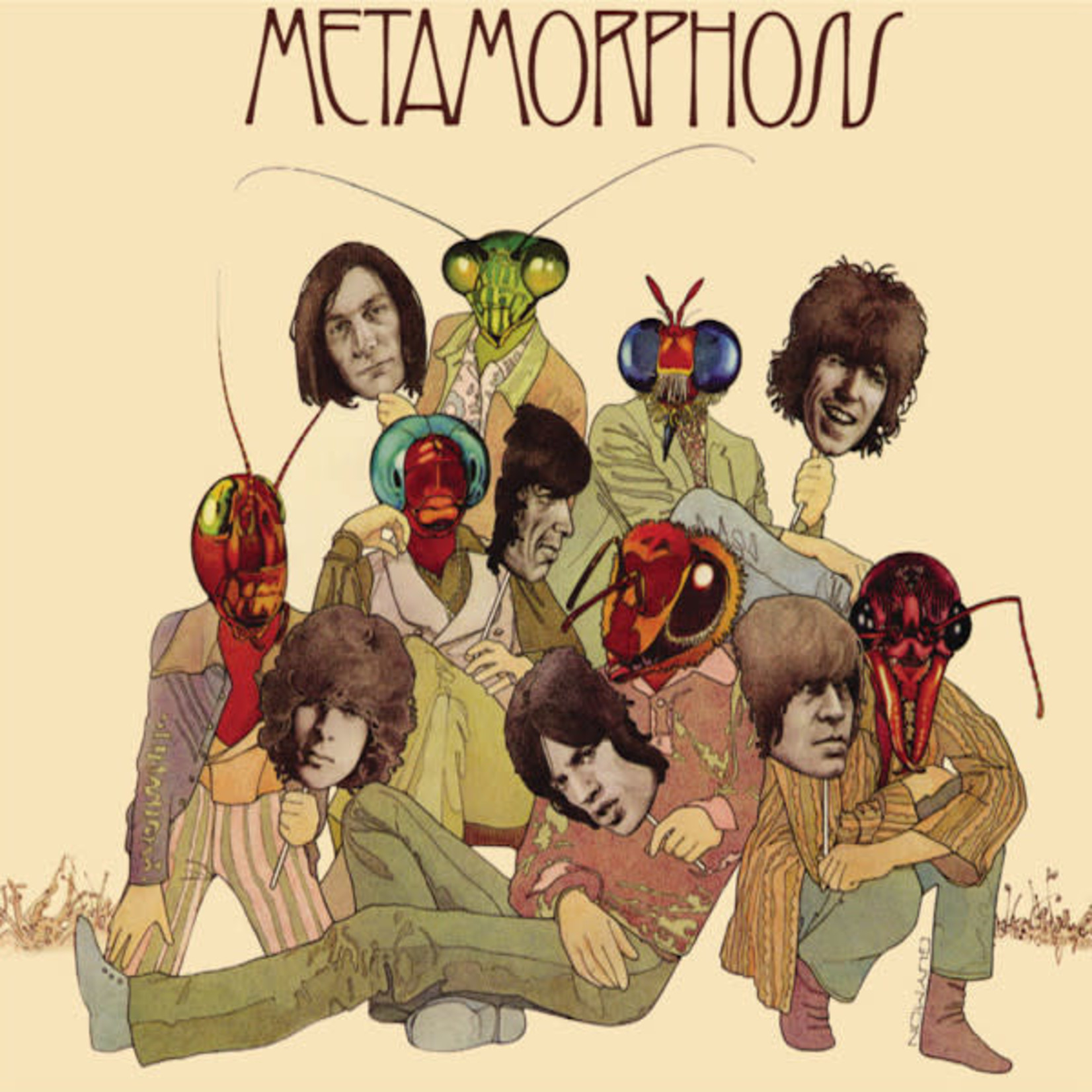 Vinyl The Rolling Stones - Metamorphosis